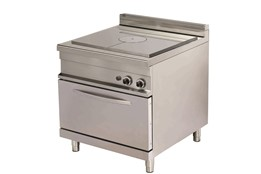 Solid Top Cooker with Oven