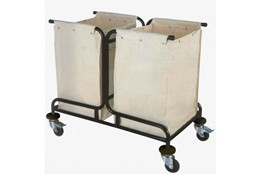 Two Bags Dirty Linen Trolley