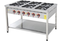 Cooker with Under Shelf