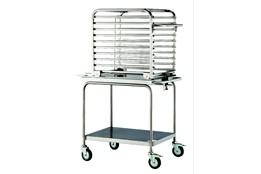 20 trays oven  trolley + loading kit