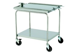 20 trays oven trolley