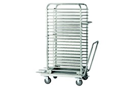 40 trays oven trolley + loading unit