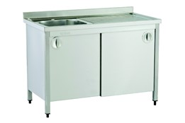 Sink Unit/Single/with Cabinet