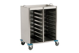ٍSelf Service Tray Collecting Trolley(40 pcs 37*53 Tray)