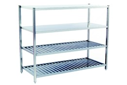 Storage Shelves for Pots and Pans