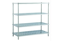 Dismountable Storage Shelves for Pots and Pans