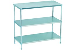 Dismountable Storage Unit with 3 Flat Shelves
