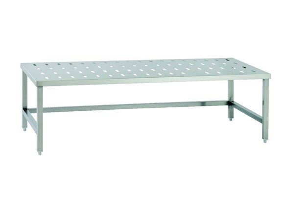 Perforated Storage Table
