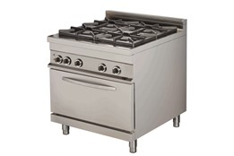Cooker with Oven