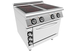 Seran Glass Cooker with Oven / Elc