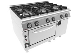 Cooker with Oven / Gas