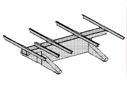 Cantilever system lower structure