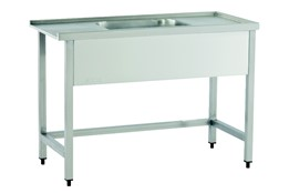 Dishwasher Inlet Table with Sink