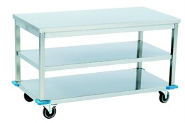 Mobile Work Table/Mıddle with Shelf