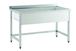 Draining Table with Sink